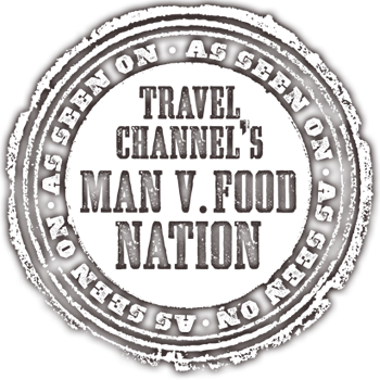 Travel Channel Man vs Food
