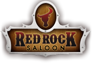 Red Rock Saloon Logo